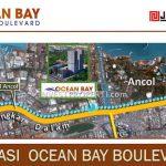 Lokasi Ocean Bay Boulevard Jaya Ancol