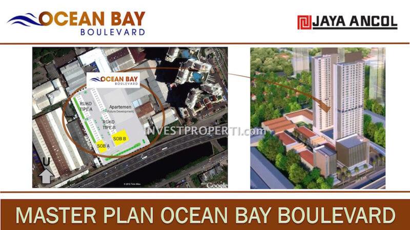 Master Plan Ocean Bay Boulevard Jaya Ancol