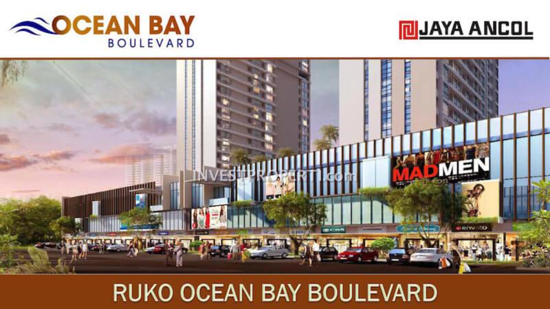 Ruko Ocean Bay Boulevard Ancol