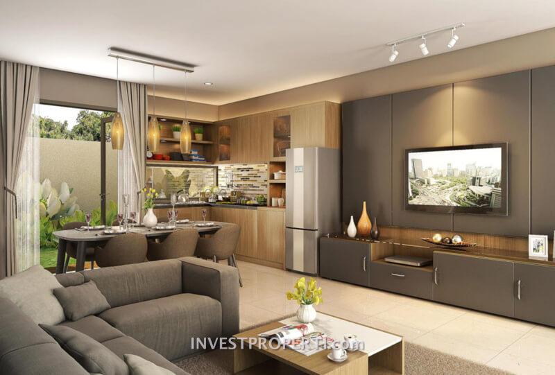 Interior Design Rumah Vanya Park Tipe 120