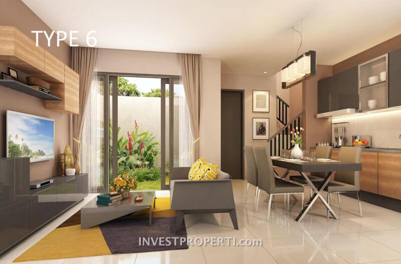 Interior Design Living Room Vanya Park BSD