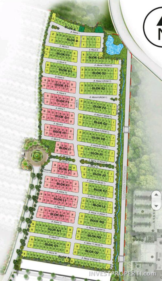 Site Plan Cluster Gracia Ext Lavon