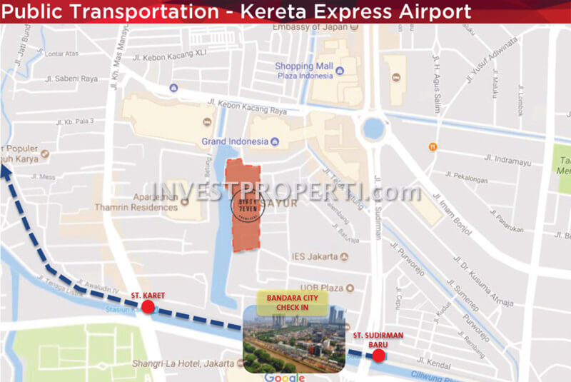 57 Promenade Thamrin - Kereta Express Airport