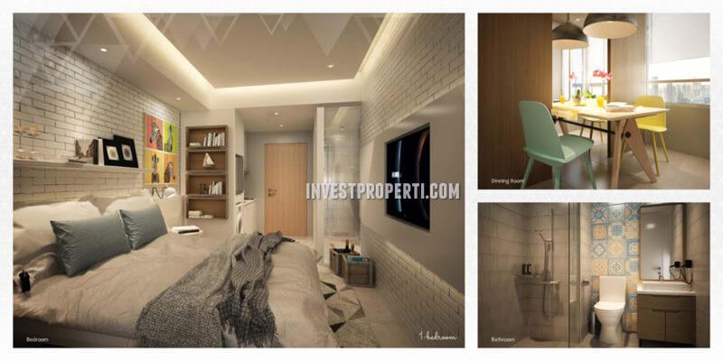 Apartemen Scandinavia Tangerang Tipe 1 BR