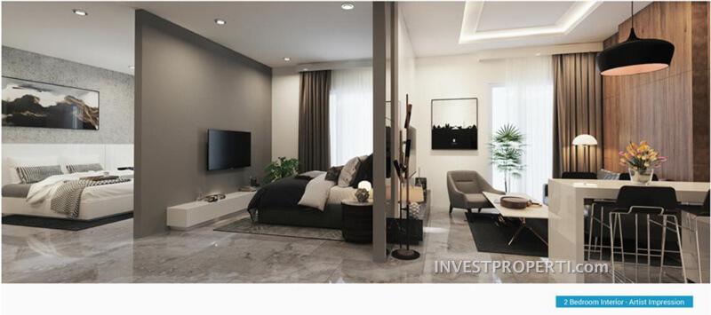 Apartemen 2 BR Vasanta InnoPark Bekasi