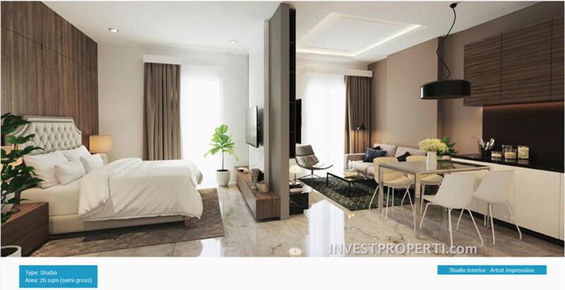 Apartemen Studio Vasanta InnoPark Bekasi