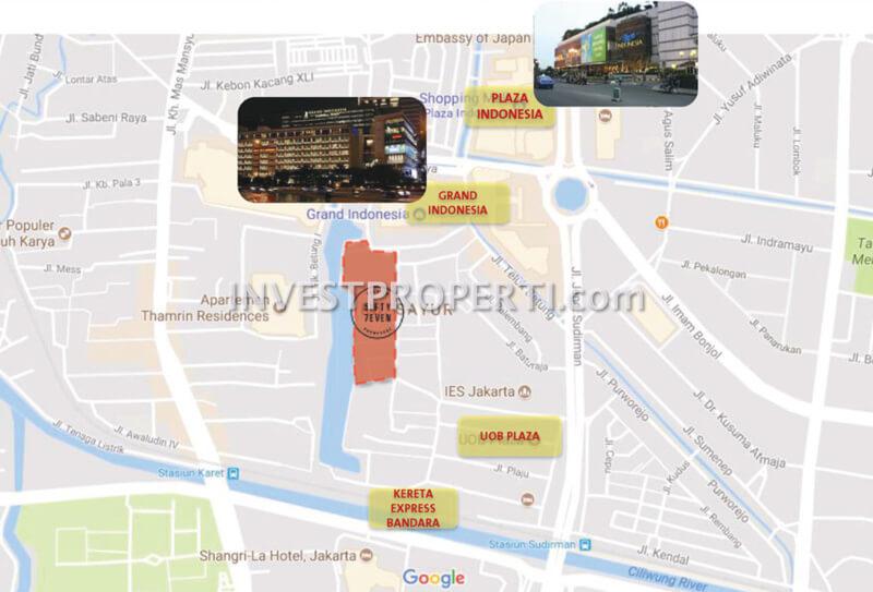 Fasilitas Sekitar 57 Promenade Thamrin