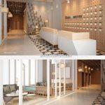Lobby Apartemen Scandinavia Tangerang