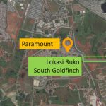 Lokasi Ruko South Goldfinch The Springs