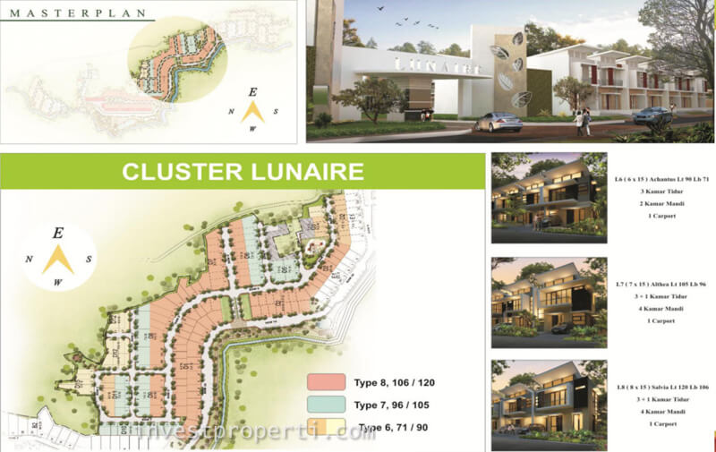 Master Plan Cluster Lunaire