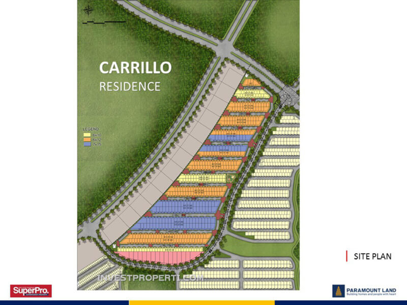 Master Plan Carrillo Residence Serpong