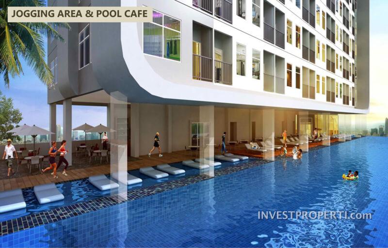 Pool Cafe - B Residence BSD