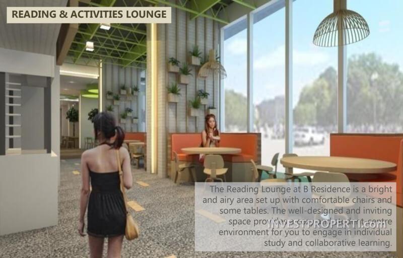 Reading Lounge - B Residence BSD