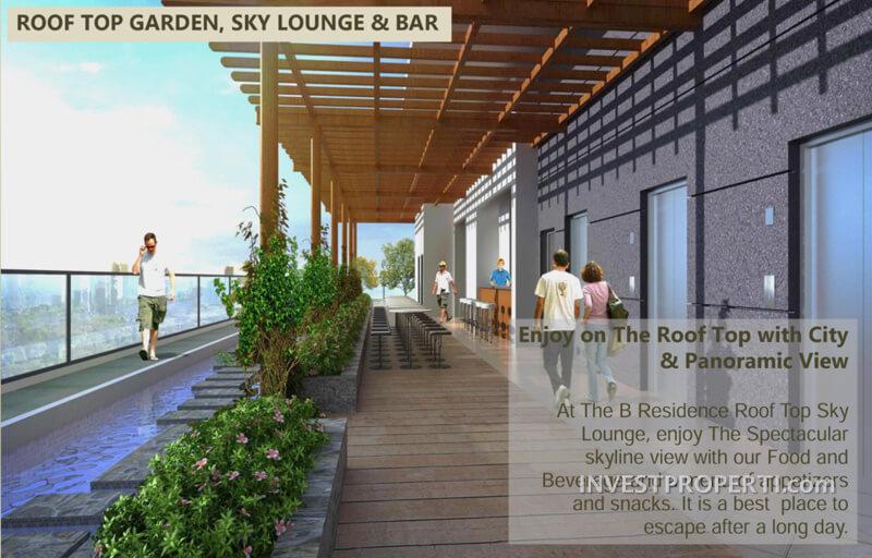 Roof Top Garden - B Residence BSD
