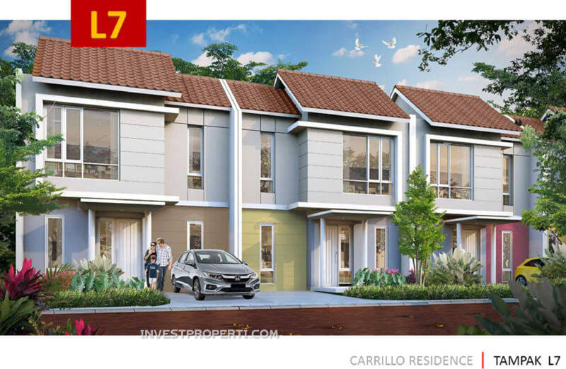 Rumah Carrillo Residence Tipe L7