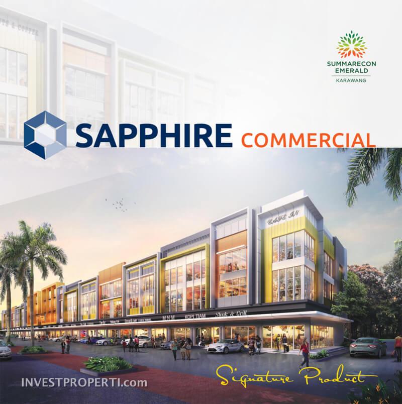 Sapphire Commercial Ruko Summarecon Karawang