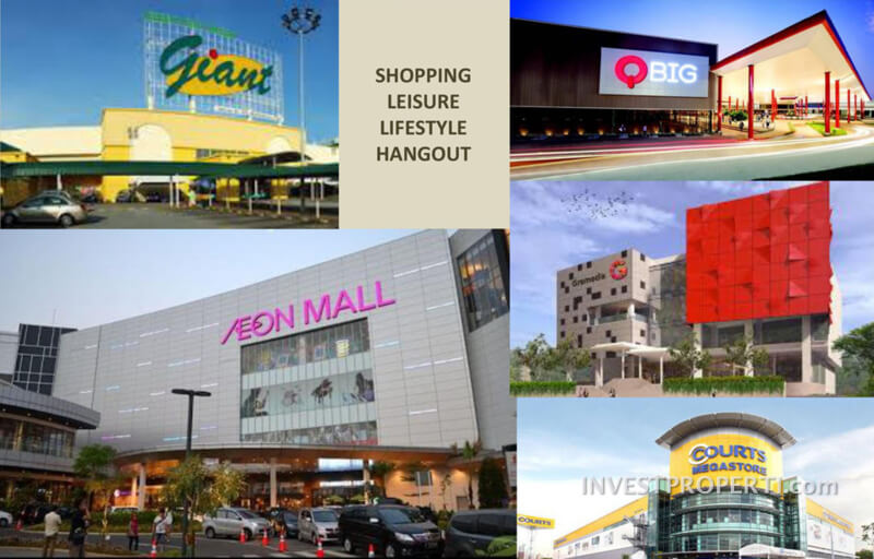 Shopping Mall Sekitar B Residence