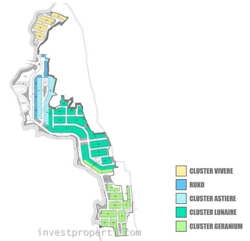 Site Plan La Verde Serpong Park