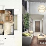 Tipe Unit Loft C - Casa de Parco