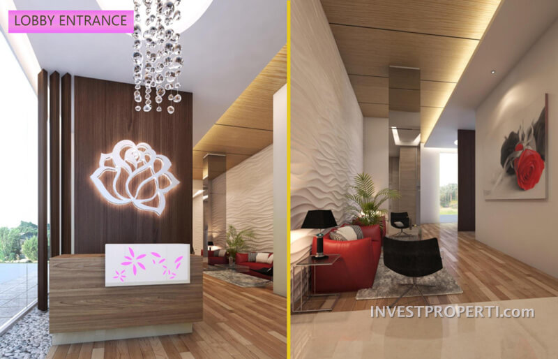 Lobby Tower Rose B Residence