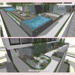 Pool Apartemen Newton 2 Jakarta