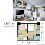 Apartemen Sentraland Cengkareng 1BR Type