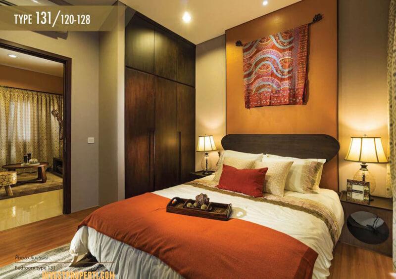 Design Master Bed Rumah Amarine The Mozia
