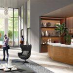 Lobby Apartemen Sentraland Cengkareng