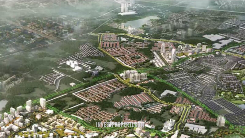 Lokasi Ruko BOLSENA Square Gading Serpong