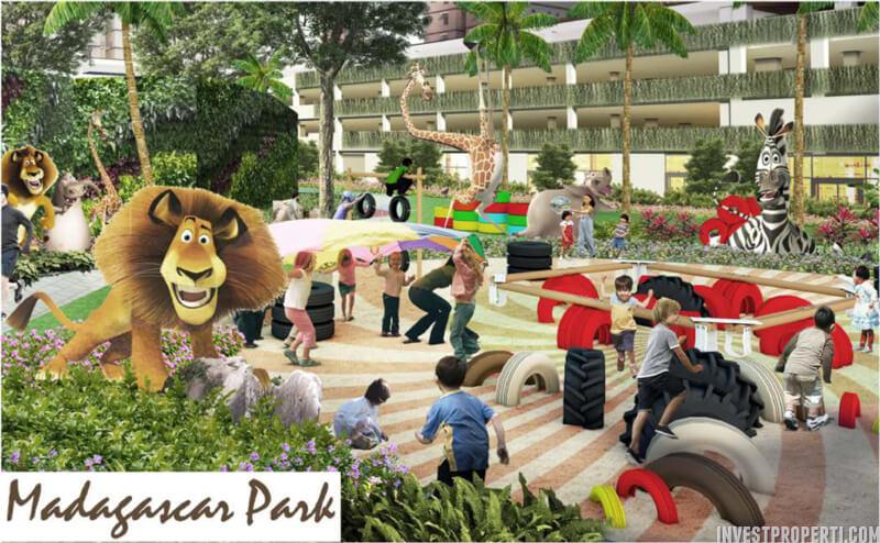 Madagascar Park - Cengkareng Sentraland Apartment