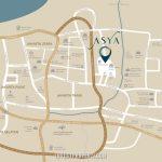 Peta Lokasi ASYA JGC