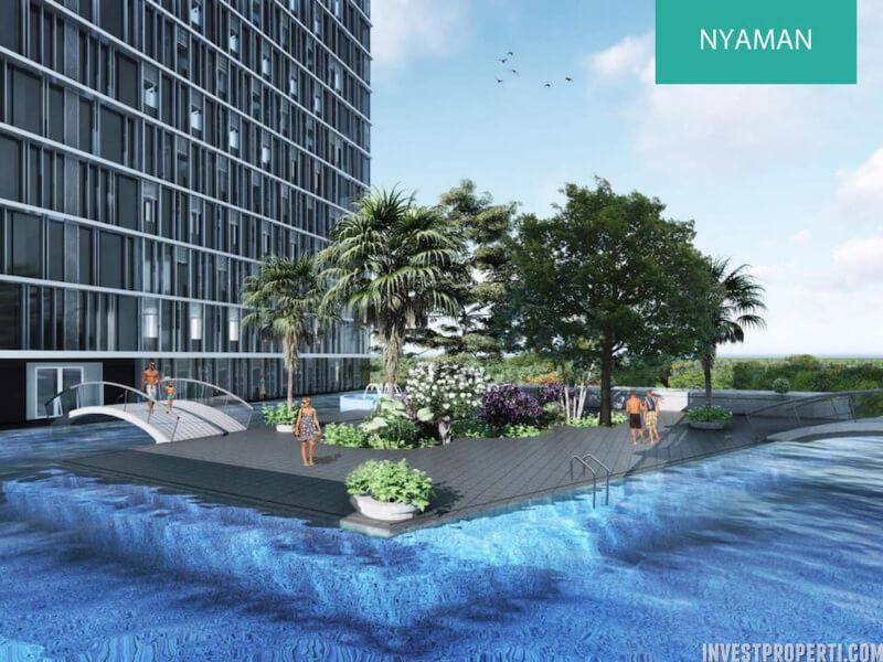 Pool Apartemen Pacific Garden