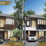 Rumah Cluster Amarine Tipe 105
