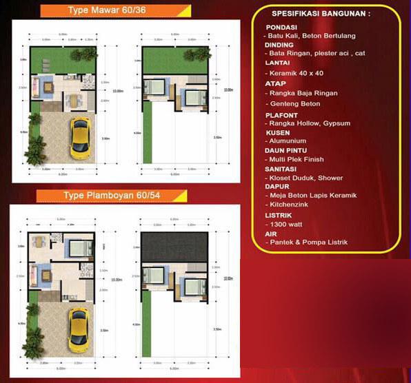 Spesifikasi Bangunan Rumah Kaisar Serpong
