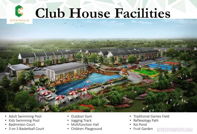 Club House Emerald Residence Tangerang