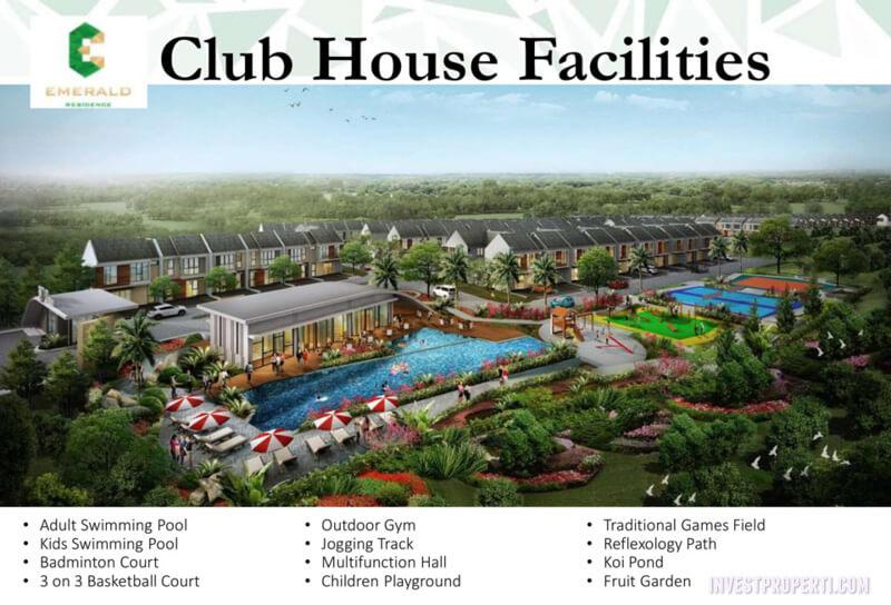 Club House Emerald Residence Tangerang