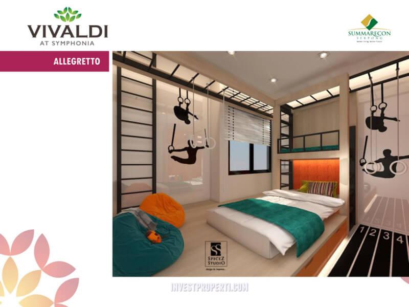 Contoh Design Rumah Cluster Vivaldi