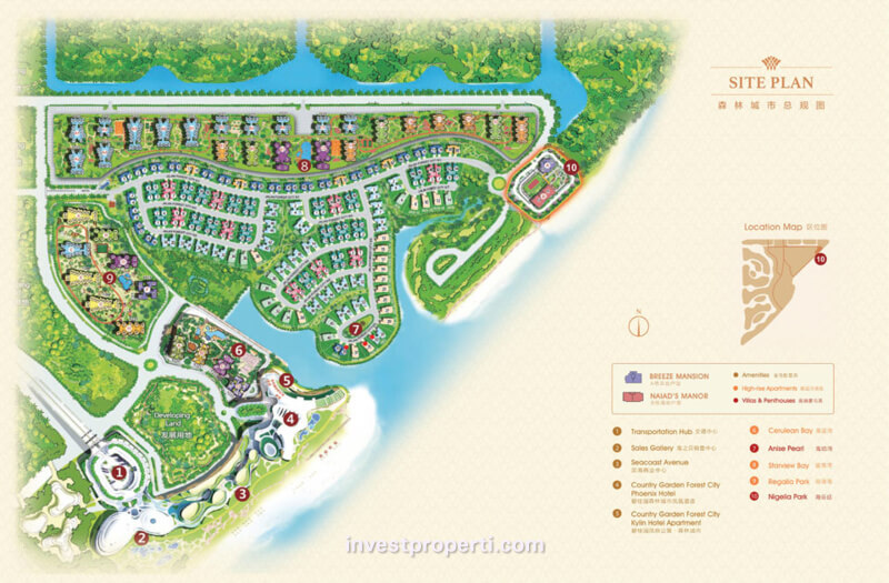 Forest City Johor Apartment Nigella Park Location