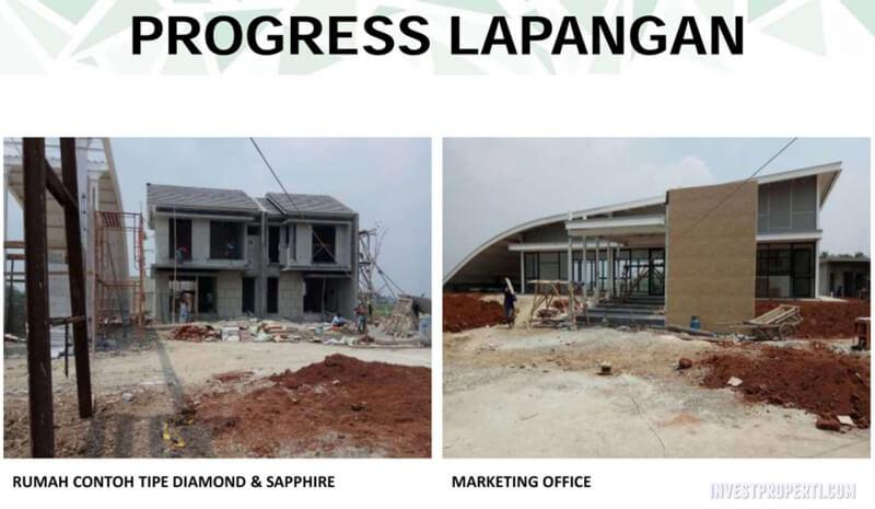 Foto Prograss Pembangunan Emerald Residence