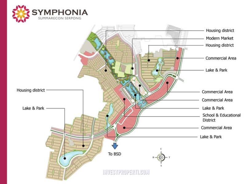 Master Plan Symphonia Summarecon Serpong