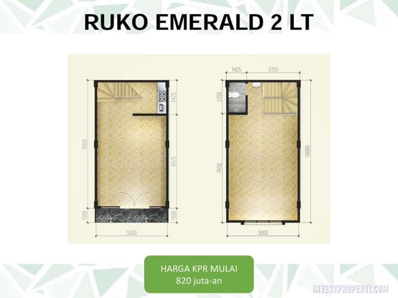 Ruko Emerald Square Tangerang - 2 Lantai