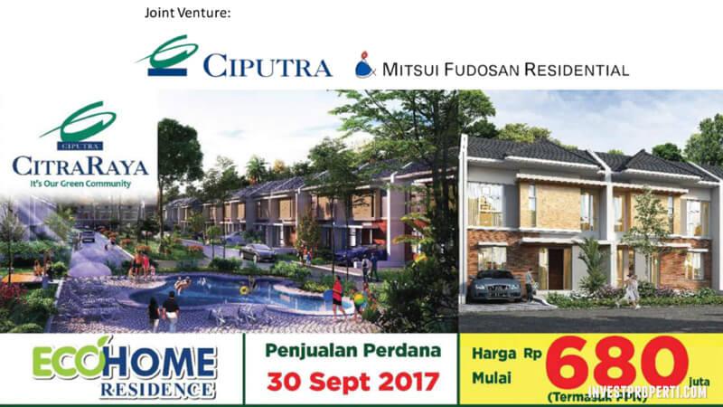 Rumah EcoHome Residence CitraRaya Dijual