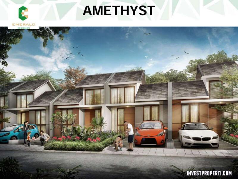 Rumah Emerald Residence Tangerang - Tipe Amethyst