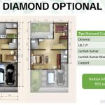 Denah Rumah Emerald Residence -Diamond Opt