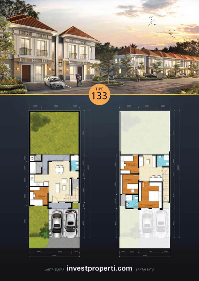 Rumah Savia BSD Tipe 133