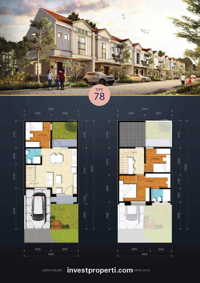 Rumah Savia BSD Tipe 78