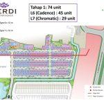 Site Plan Cluster Verdi