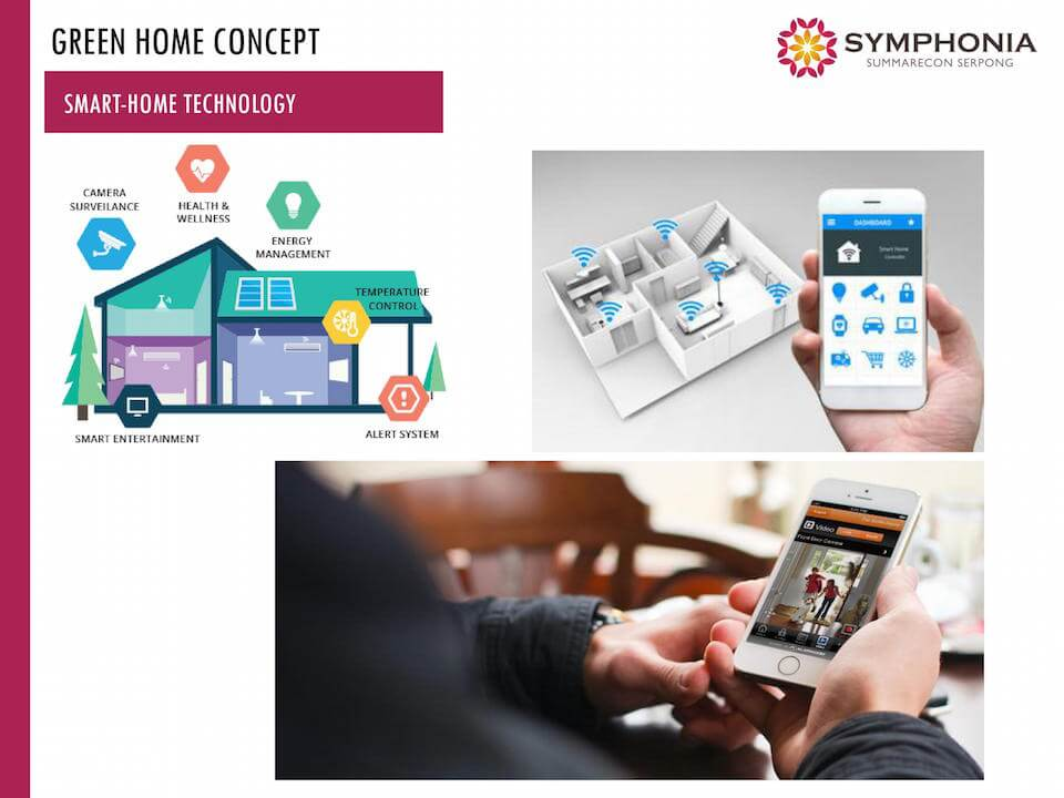 Smart Home Symphonia Summarecon Serpong