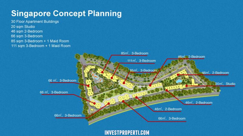 Apartemen Country Garden BSD Sky House Master Plan