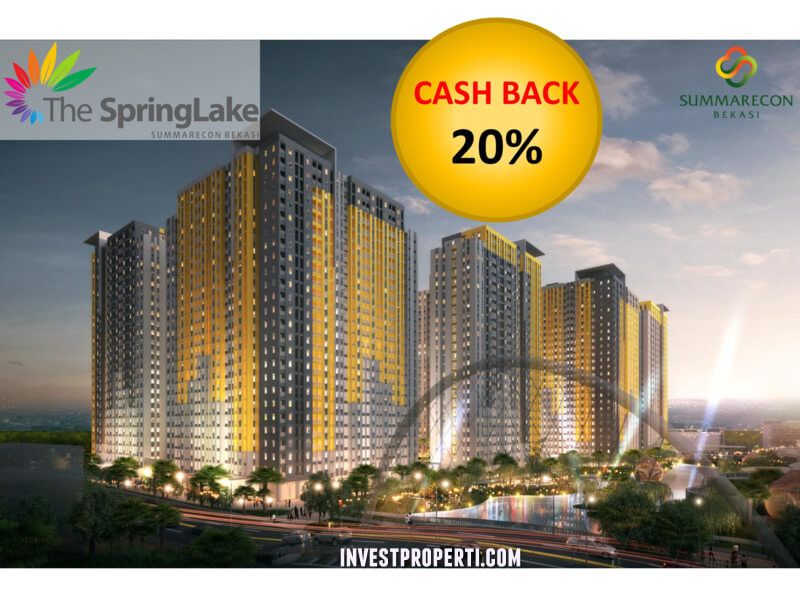 Apartemen Springlake Summarecon Bekasi PROMO